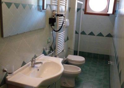 Residence Perla Bianca Alloggi BiloComfort bagno