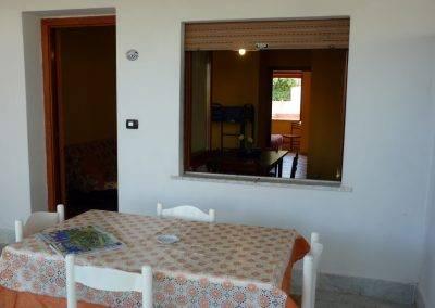Residence Perla Bianca Alloggi Bilo Comfort Terrazzo