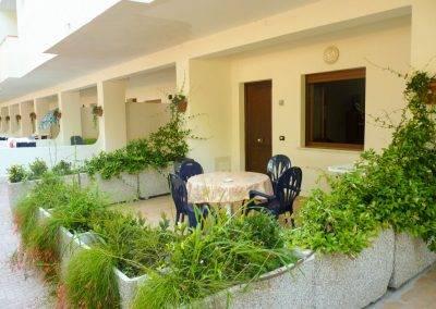 Residence Perla Bianca Alloggi Bilocale Lux terrazza
