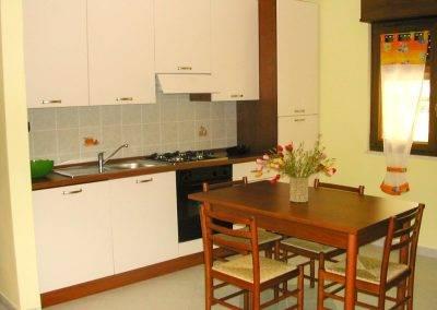 Residence Perla Bianca Alloggi Bilocale Lux cucina