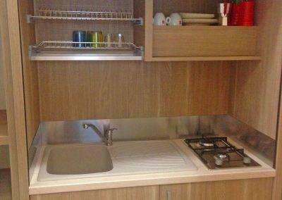 Residence Perla Bianca Alloggi Mono Mare cucina