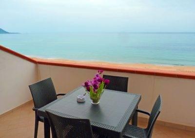 Residence Perla Bianca Alloggi Mono Mare balconcino
