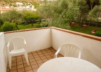Residence Perla Bianca Alloggi Mono Clima balconcino