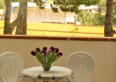 Residence Perla Bianca Alloggi Mono Lux Balcone2