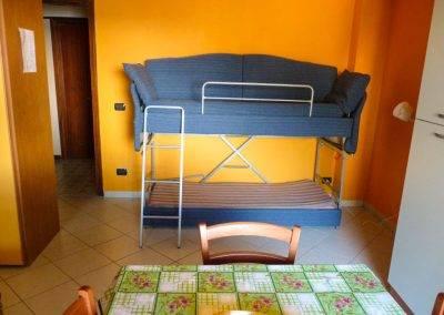 Residence Perla Bianca Alloggi Mono Lux Letto Castello