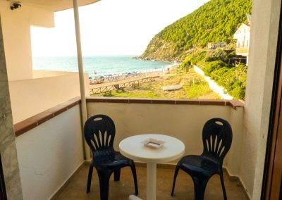 Residence Perla Bianca Alloggi Mono Lux balcone