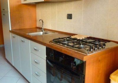 Residence Perla Bianca Alloggi Mono Lux cucina
