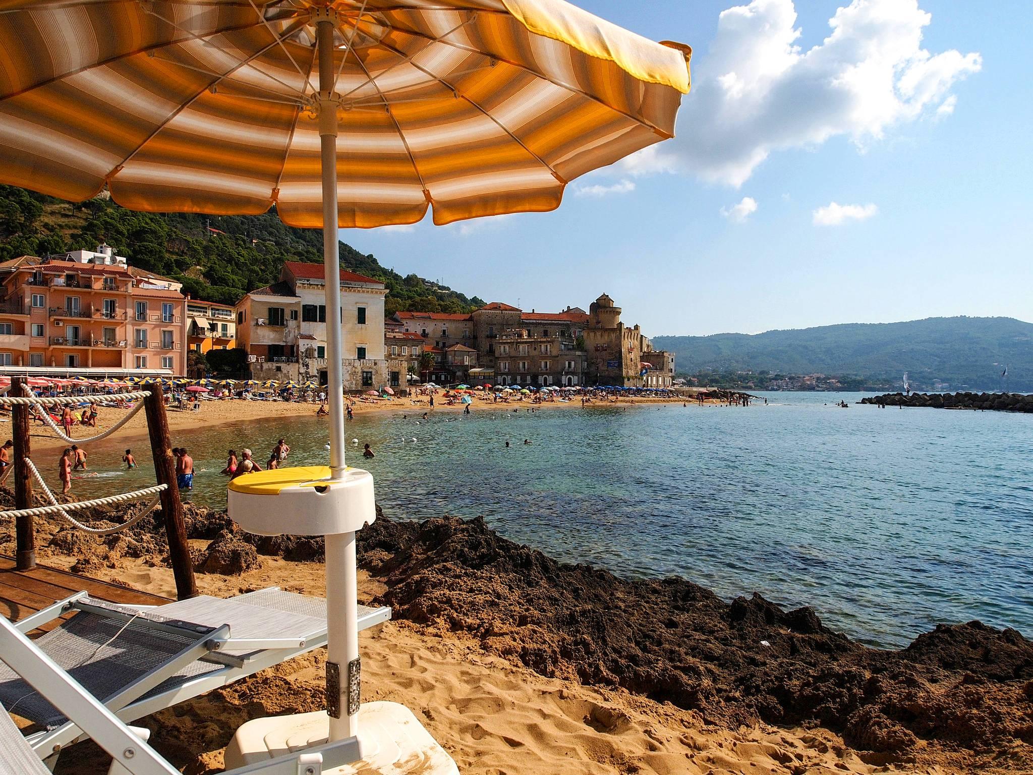Santamaria spiaggia Residence Perla Bianca ristorante spiaggia appartamento